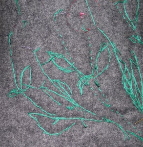 Embroider Stems and Leaves