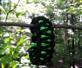 Black Mamba Paracord Bracelet