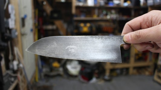 Grinding the Bevel