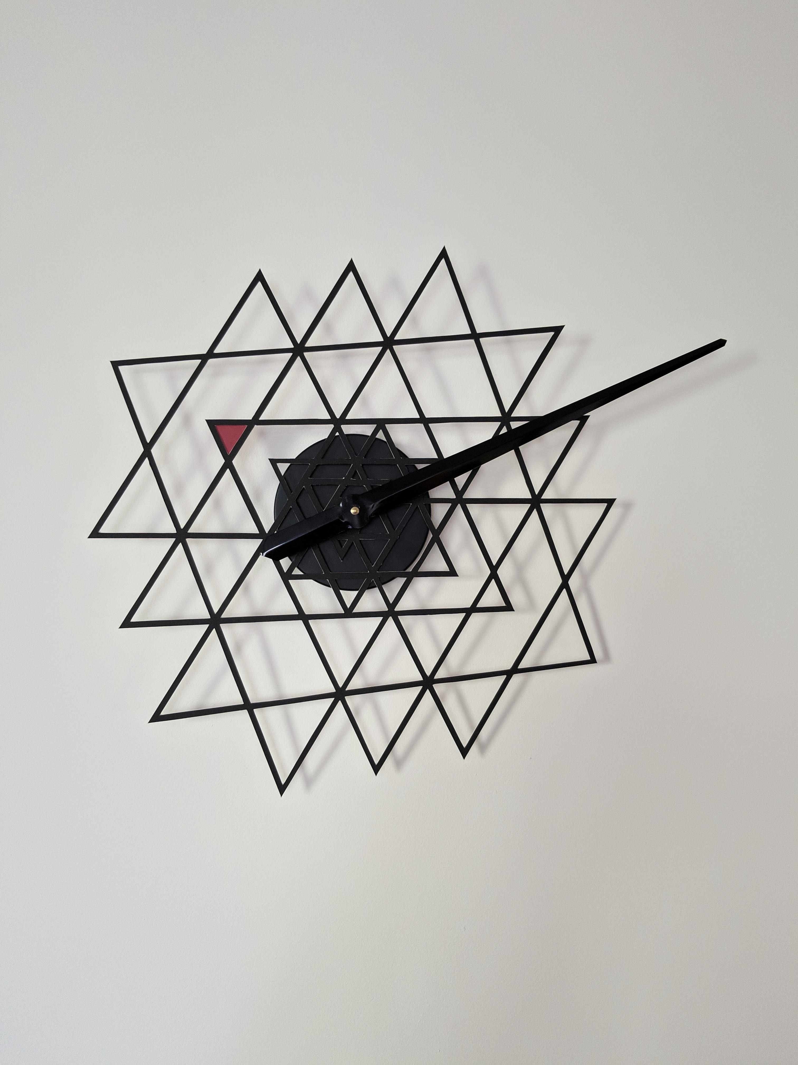 Picture of Shree Yantra Clock