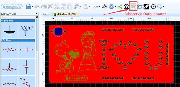 Order This Romantic PCB Directly From EasyEDA
