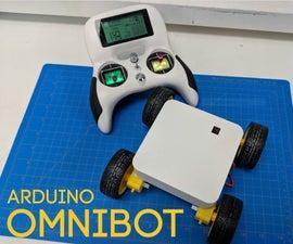 OmniBot - Easy Arduino RC Robots