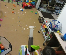 How to Make Children's Vacuum Cleaner Ball Cannon
