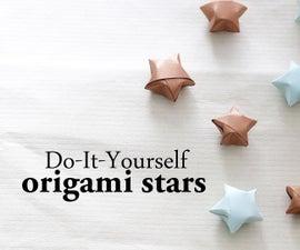 DIY : Origami Stars
