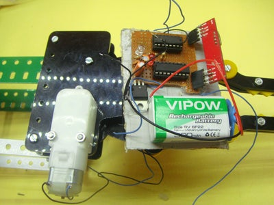Attaching Claw to the Receiver and Adding Power Supply
