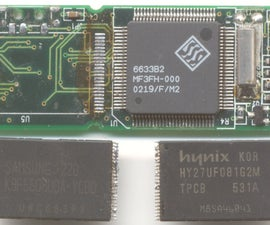 Extracting SMD integrated circuits
