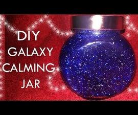 DIY GALAXY CALMING JAR (Without Glue)