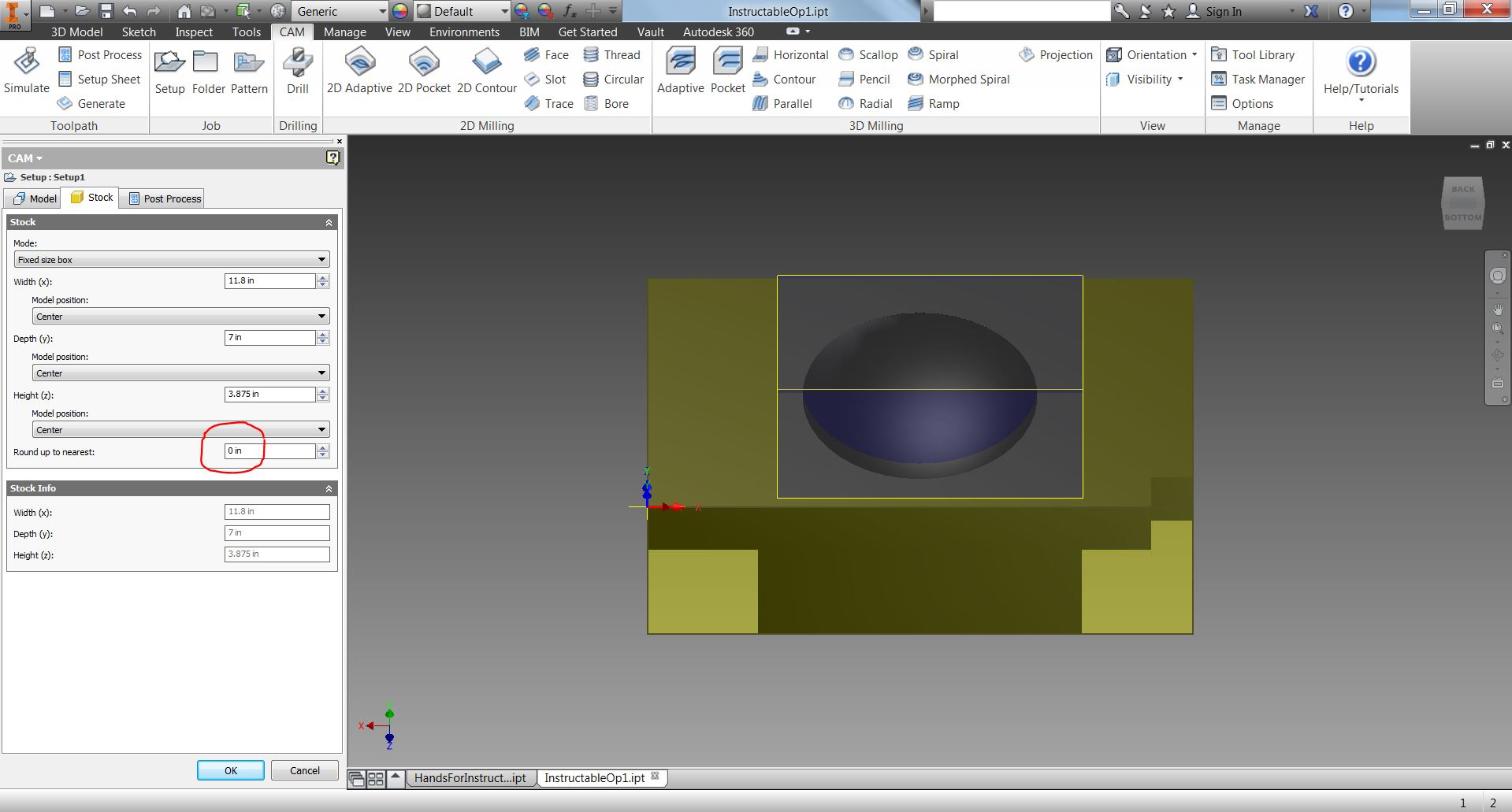 Picture of Use HSM to Create a Setup for Your Machining
