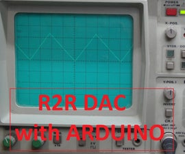 R2R Digital-Analog-Converter (DAC)