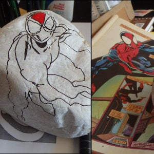 Seclect the Rock, Draw Figure, Paint