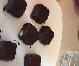 Almond Joy or Mounds Paleo / Keto Coconut Fat Bombs