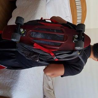 DIY Pennyboard Backpack