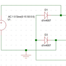 Full Wave Rectifier Circuit Through Bridge Rectification