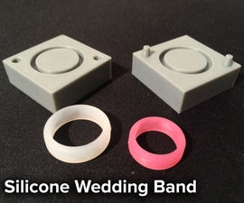 Silicone Wedding Band Ring