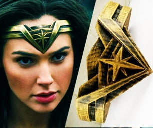 DIY Wonder Woman's TIARA Costume