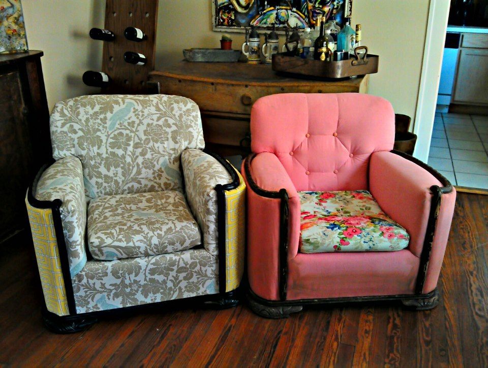How To Reupholster >> How To Reupholster A Chair 15 Steps With Pictures