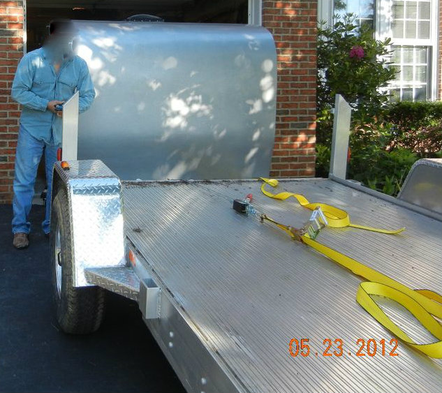 Picture of Loading It on the Trailer