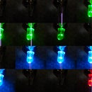 Cool portable disco lights and glow ball