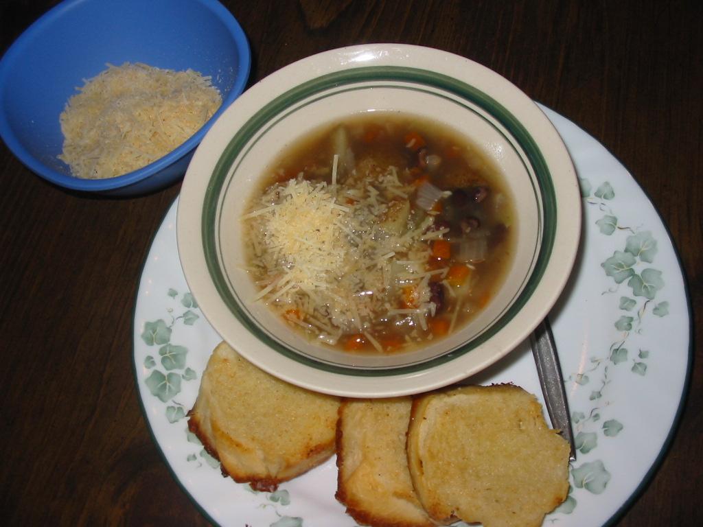 Picture of Black Bean Potato Soup