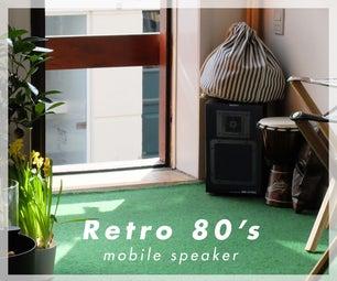 Retro 80's Speaker - Reborn!