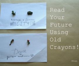 Fortune-Telling With Old Crayons!
