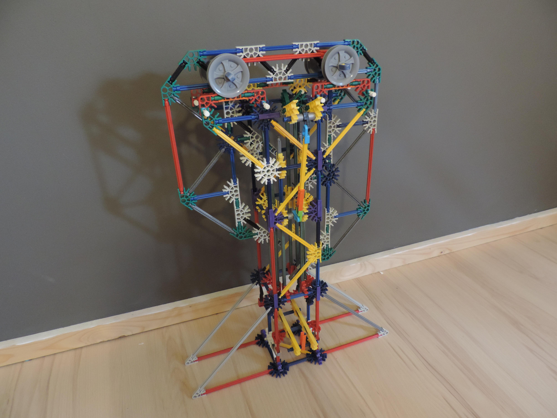 Picture of Knex Ball Machine Element: Center Zig Zag