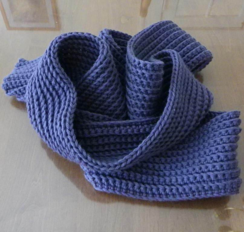 Picture of How to Make a Crochet Scarf