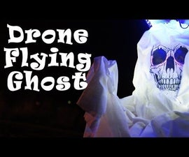 RC Drone Flying Halloween Ghost