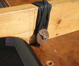 Outrigger Lashing Buttons