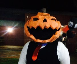 Samhein the Pumpkin Head