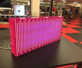 LED Sound Reactive Light Box