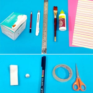Things Needed for Making Paper Purse