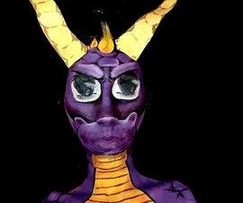 Spyro Face Paint