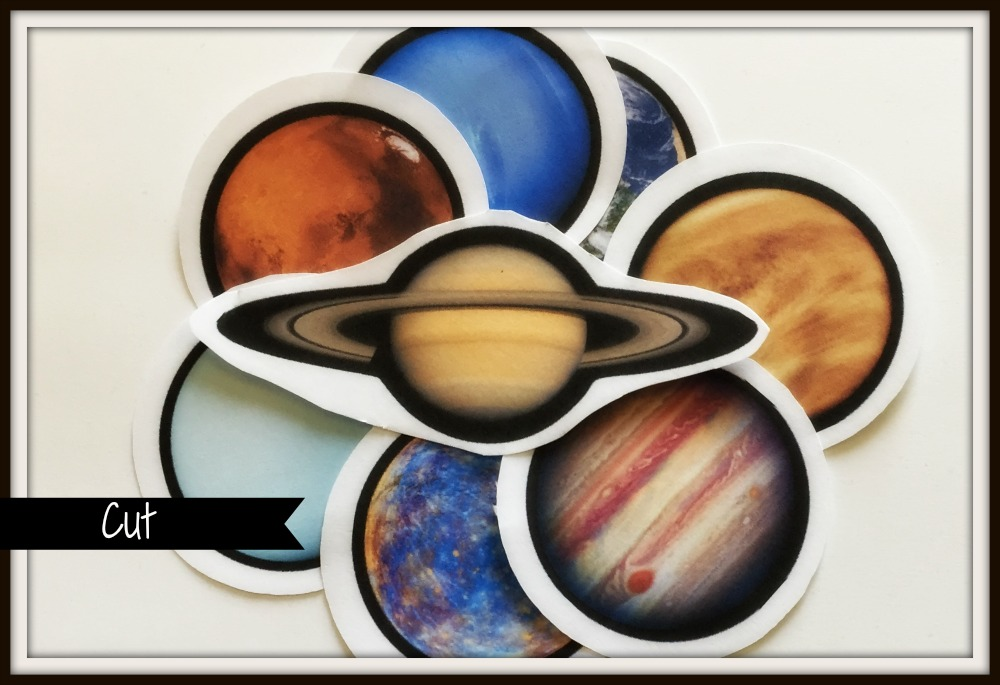 Picture of Cut Planets
