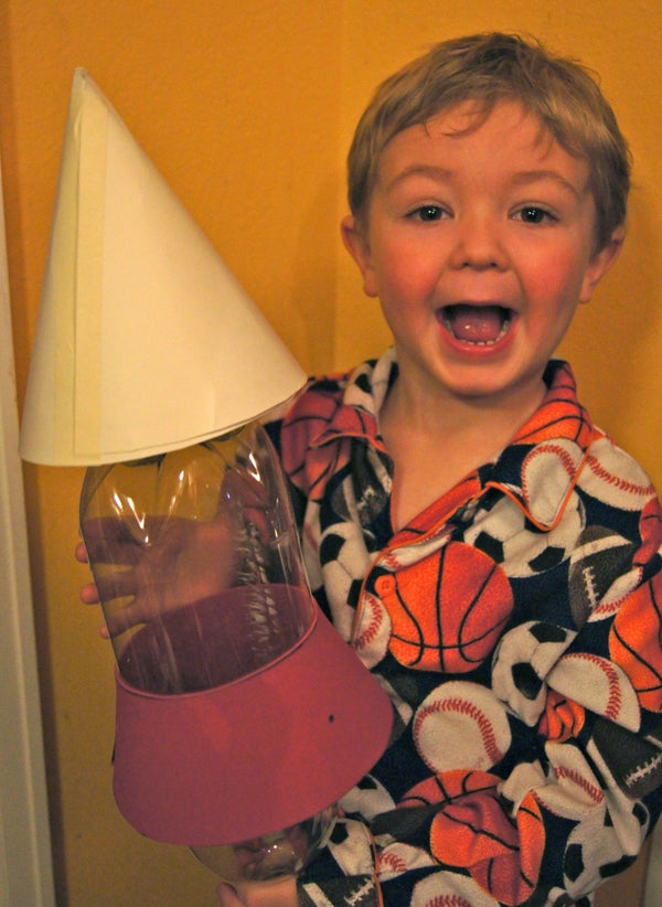 Soda Bottle Rocket Launcher($13.97) a Child's Smile(PRICELESS!)