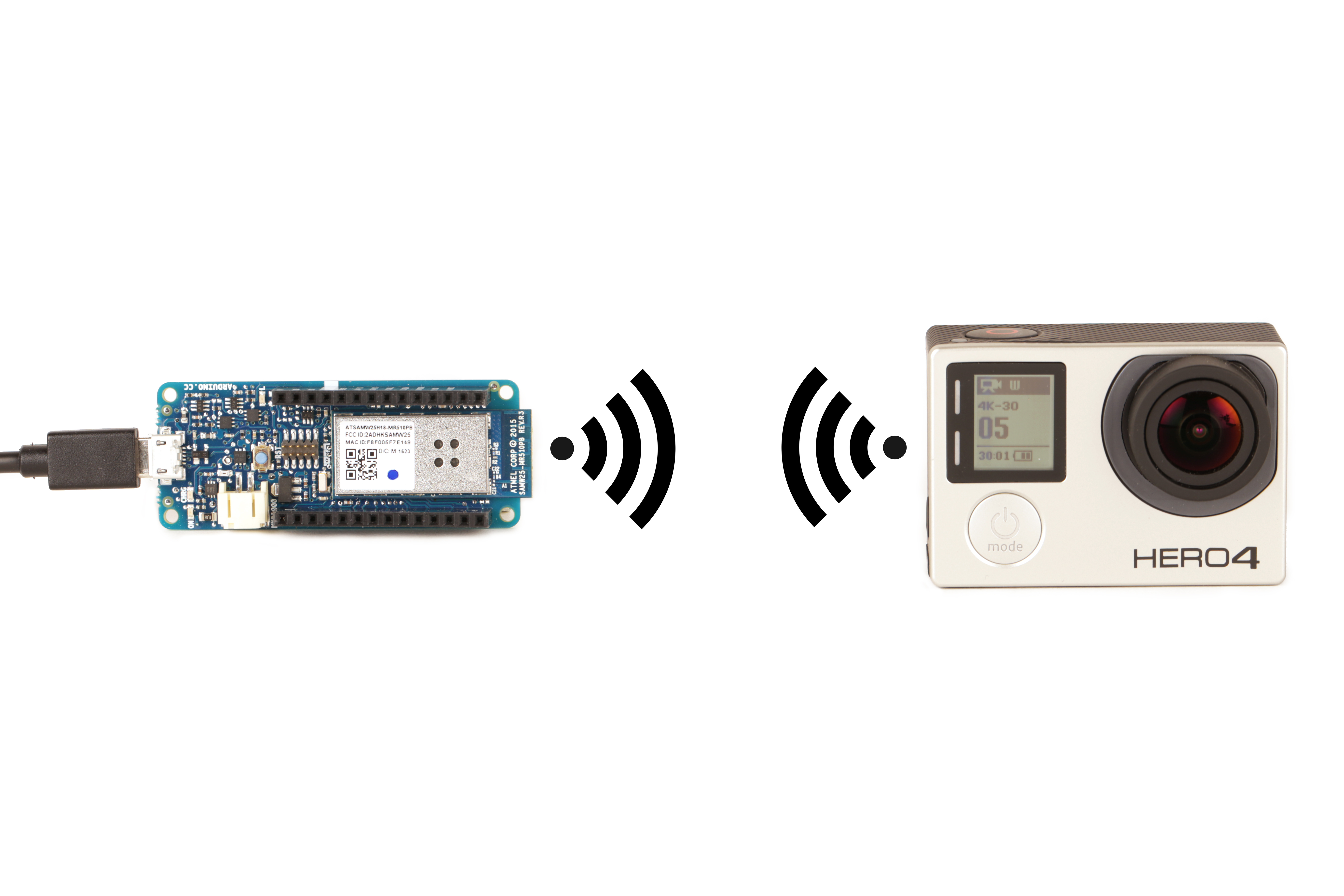 Picture of Connect an Arduino to the GoPro Hero