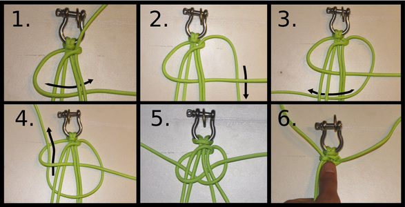 Step 6: Completing Your First Gator Braid.