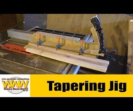 Tapering or Jointer Jig