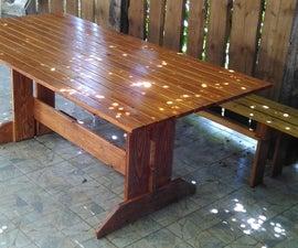 Nagy Kerti Asztal / Large Picknick Table