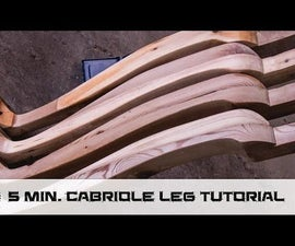 How to Make Cabiole Style Dining Table Legs