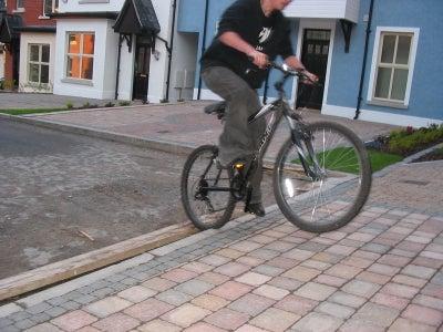 Cyclist attacks again...