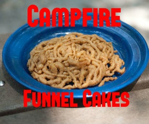 Campfire Funnel Cakes