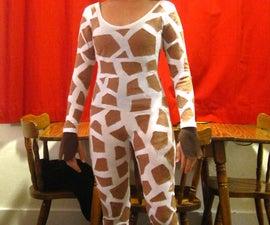 How to Make an Inexpensive Giraffe Costume