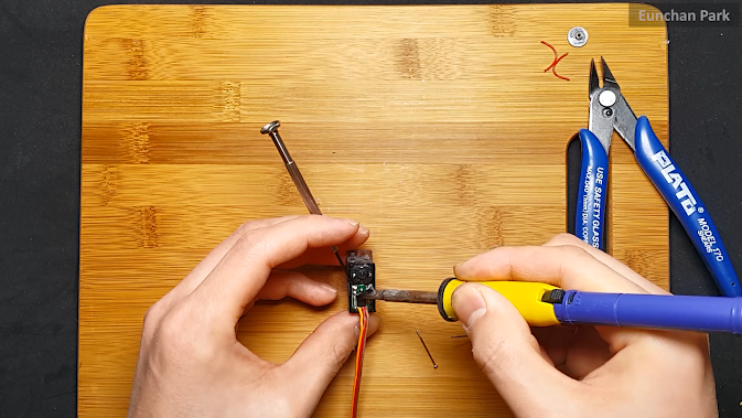 Picture of Use a Soldering Tool and Detach the Board