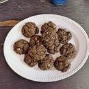 Oaty Hot Chocolate Cookies