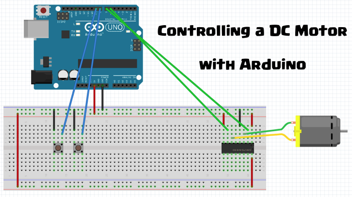 Picture of Controlling a DC Motor With Arduino