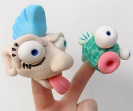 Model Magic 101: Finger Puppets