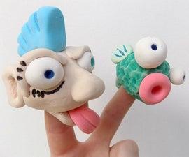 Model Magic 101: Finger Puppets