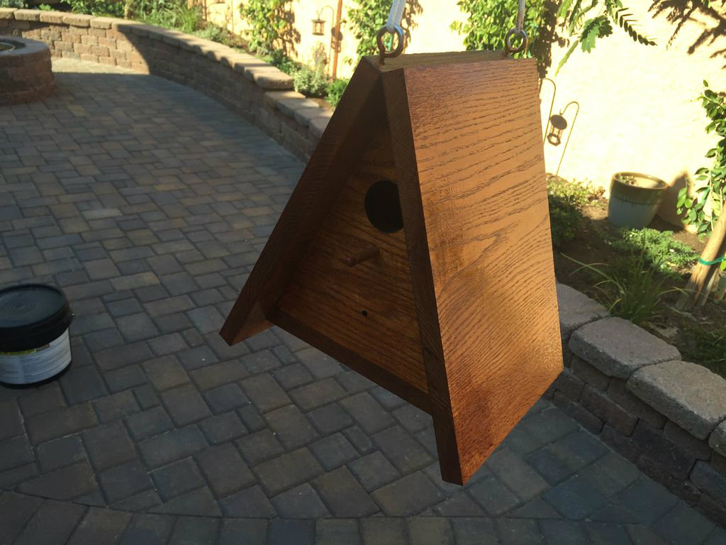 Picture of Timelapse Camera Birdhouse With Google Drive, Lodge-style