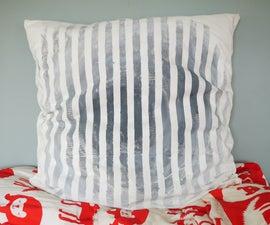 Striped Gradient Pillow